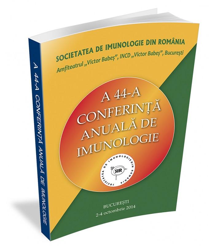 A 44-a Conferință Anuală de Imunologie
