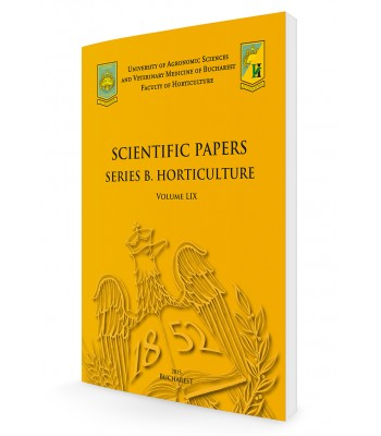 Scientific Papers. Series B. Horticulture