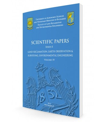 Scientific Papers. Series E. Land Reclamation, Earth Observation & Surveying, Environmental Engineering