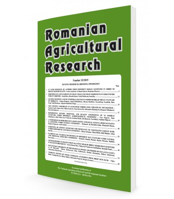 Romanian Agricultural Research
